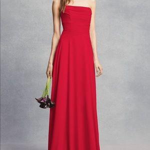 Red bridesmaid dress ...  Vera Wang White
